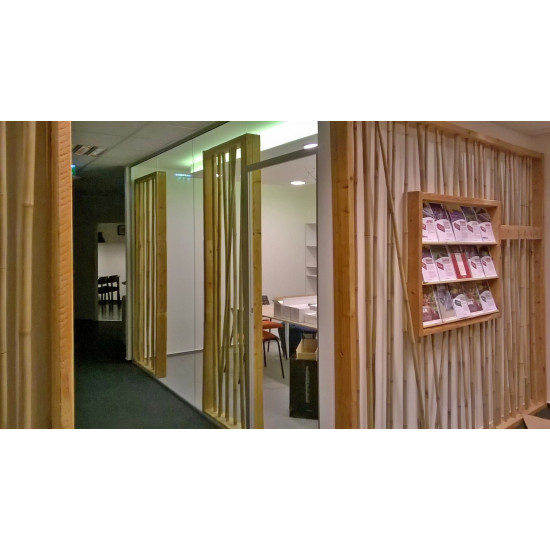 TONKIN bambuszrúd, 2400 x 14-16 mm