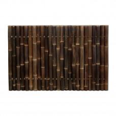 GIANT bambuszrúd panel 60-80 mm-es WULUNG bambuszból, 120 x 180 cm