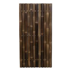 GIANT bambuszrúd panel 60-80 mm-es WULUNG bambuszból, 180 x 90 cm
