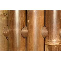 GIANT bambuszrúd panel 60-80 mm-es APUS bambuszból, 200 x 180 cm