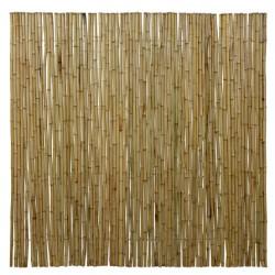 MEDIUM natúr bambuszrúd tekercs, 180 x 180 cm, D.18-22 mm