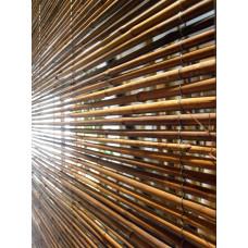 PIKKOLO 6-8 mm-es gőzölt bambusz tekercselve, 180 x 240 cm