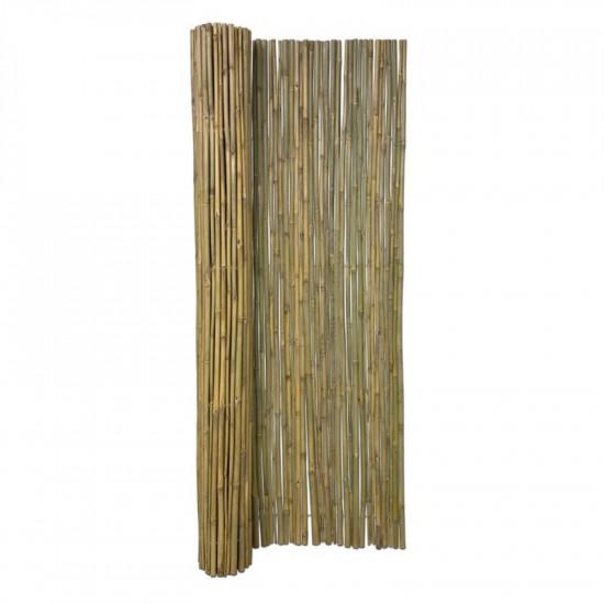 TONKIN bambuszrúd tekercselve, 180 x 180 cm, D.10-20 mm, kezeletlen - GAZDASÁGOS