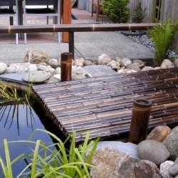 TRENDLINE bambuszrúd panel 35-45 mm-es NIGRA bambuszból, 100 x 180 cm