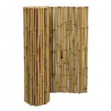 LARGE natúr bambuszrúd tekercs, 100 x 250 (szél) cm, D.25-28 mm