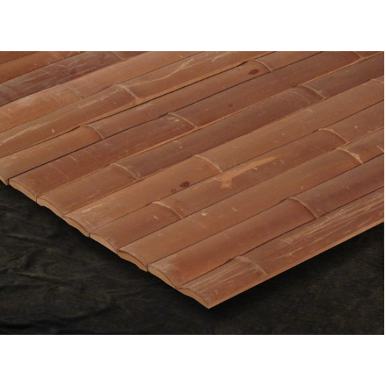 MOSO bambusz lambéria - karamell, 2000 x 45 x 12 mm