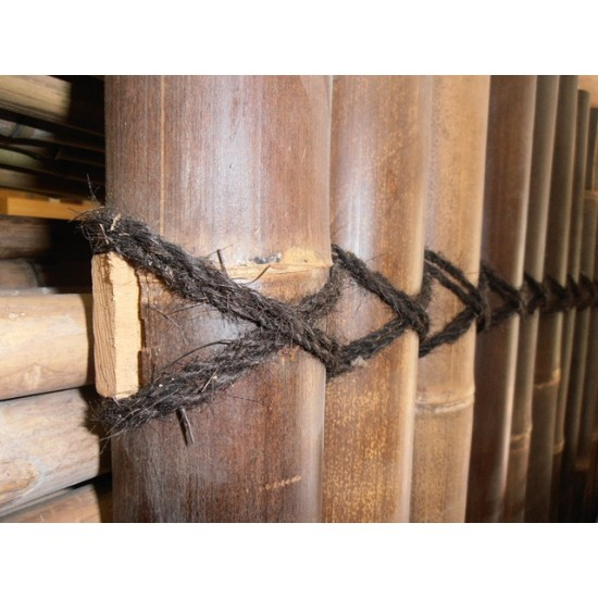 WULUNG bambuszrúd, 2000 x 30-40 mm
