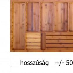 Késtartó deszka fiók tetejére, 400 mm széles szekrénybe szerelt fiókhoz
