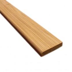 Bambusz szegőléc, horizont minta kávébarna, kezeletlen, 2000 x 25 x 5 mm