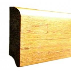 Bambusz szegőléc, fonott minta natúr, lakkozott, 1830 x 68 x 15 mm