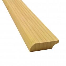 Bambusz szegőléc, vertikális minta natúr szín, kezeletlen, 2000 x 50 x 15 mm