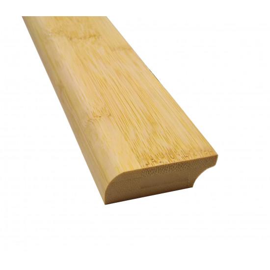 Bambusz szegőléc, horizont minta natúr, kezeletlen, 2000 x 50 x 15 mm