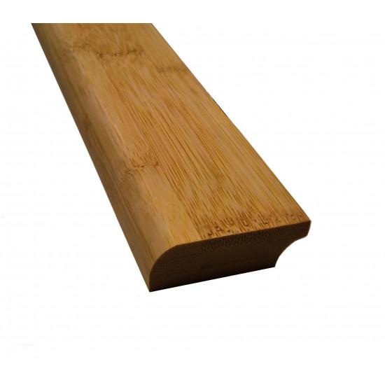 Bambusz szegőléc, horizont minta kávébarna, kezeletlen, 2000 x 50 x 15 mm