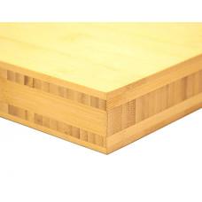 Bamboo-Classic munkalap: horizontális minta, natúr szín, 5-rétegű 2440*600*40 mm