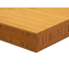 Bambusz panel: horizontális minta, kávébarna (gőzölt) szín, 5-rétegű 2440*1220*40 mm