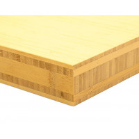 Bamboo-Classic munkalap: vertikális minta, natúr szín, 5-rétegű 2440*600*40 mm
