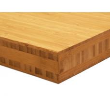 Bamboo-Classic munkalap: vertikális minta, kávébarna (gőzölt) szín, 5-rétegű 2440*600*40 mm