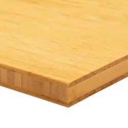 Bambusz panel: fonott minta, natúr szín, 3-rétegű 2440*1220*20 mm