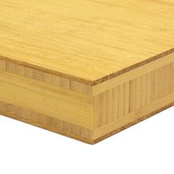 Bambusz panel: fonott minta, natúr szín, 5-rétegű 2440*1220*38 mm