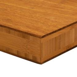 Bambusz panel: fonott minta, kávébarna szín, 5-rétegű 2440*1220*38 mm