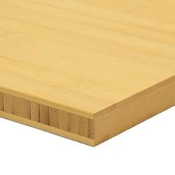 Bambusz panel: horizontális minta, natúr szín, 3-rétegű 2440*1220*20 mm