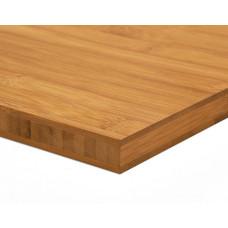 Bambusz panel: horizontális minta, kávébarna (gőzölt) szín, 3-rétegű 2440*1220*20 mm