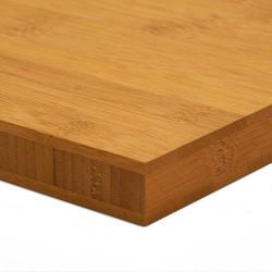 Bambusz panel: horizontális minta, kávébarna (gőzölt) szín, 3-rétegű 2440*1220*25 mm