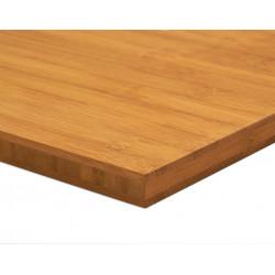 Bambusz panel: horizontális minta, kávébarna (gőzölt) szín, 3-rétegű 2440*1220*16 mm