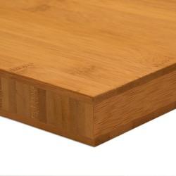 Bambusz panel: horizontális minta, kávébarna (gőzölt) szín, 3-rétegű 2440*1220*30 mm