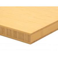 Bamboo-Classic munkalap: vertikális minta, natúr szín, 3-rétegű 2440*600*25 mm