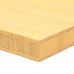 Bamboo-Classic munkalap: vertikális minta, natúr szín, 3-rétegű 2440*600*30 mm