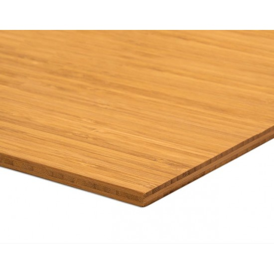 Bambusz vékonypanel: vertikális minta, kávébarna (gőzölt) szín, 3-rétegű 2440*1220*7 mm