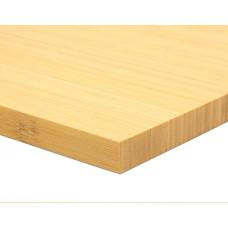 Bambusz panel: vertikális minta, natúr szín, 1-rétegű 2440*1220*19 mm