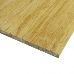 Bambusz vékonypanel: fonott minta, natúr szín, 1-rétegű 2440*1220*4 mm