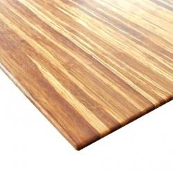 Bambusz vékonypanel: fonott tigris minta,  1-rétegű 2440*1220*4 mm