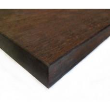 Bamboo X-treme kültéri munkalap: fonott minta, csoki szín (thermokezelt), 2000*600*40 mm