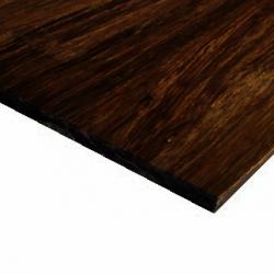 Bambusz vékonypanel: fonott minta, csoki szín, 1-rétegű 2440*1220*4 mm