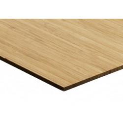 Bambusz vékonypanel: vertikális minta, kávébarna (gőzölt) szín, 1-rétegű 2440*1220*3 mm