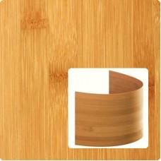 Bambusz furnér: horizontáli minta, kávébarna (gőzölt) szín, 2500*430*0,6 mm