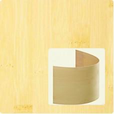 Bambusz furnér: horizontáli minta, natúr szín, 2500*430*0,6 mm