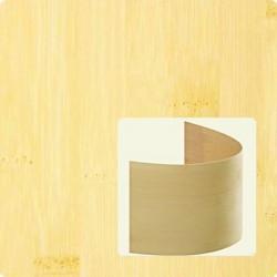 Bambusz furnér: horizontális minta, natúr szín, 2500*430*0,6 mm