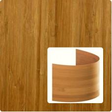 Bambusz furnér: vertikális minta, kávébarna (gőzölt) szín, 2500*430*0,6 mm