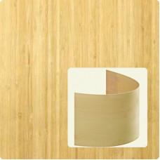 Bambusz furnér: vertikális minta, natúr szín, 2500*430*0,6 mm