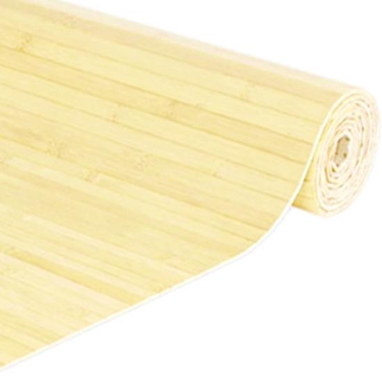 Flexbamboo PANDA 17 - 204 cm széles, 17*2 mm-es lamellák, natúr szín