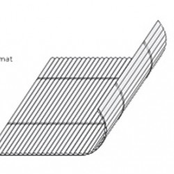 Bambusztekercs (rolóanyag) - BC09 -120 cm széles