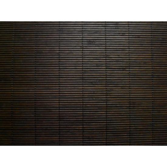 Unibamboo Tatamat tekecs, fekete szín, lakkozott 200 cm széles - akciós