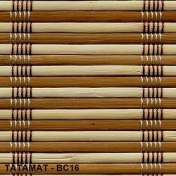 Bambusztekercs (rolóanyag) - BC16 -120 cm széles