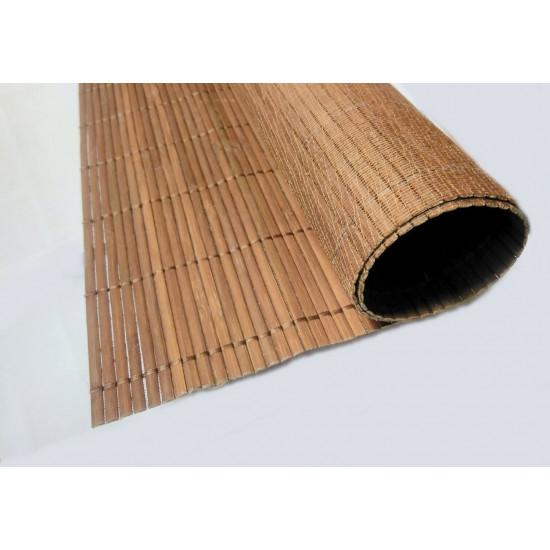 Flexbamboo Tatamat dióbarna tekercs, 180 cm széles