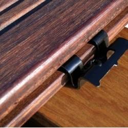 X-treme burkolatokhoz rögzítő clip + 4,5x30 mm-es csavar - 90 db-os csomag
