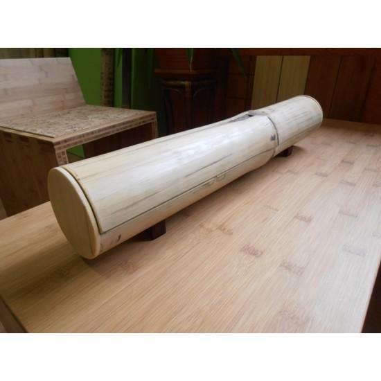 Bamboo-Classic munkalap: horizontális minta, kávébarna (gőzölt) szín, 5-rétegű 2440*600 *40 mm